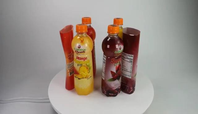 Neue Produkte Druck PVC Schrumpfen Label Für Glas Flasche