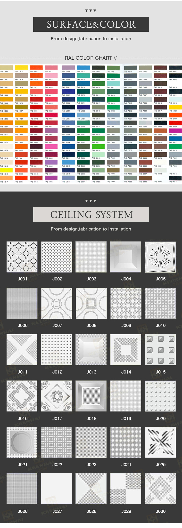 Building materials  new  style metal Ceiling decoration aluminum ceiling panel