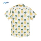 Factory direct eco friendly floral summer casual cotton printing shirt hawaii