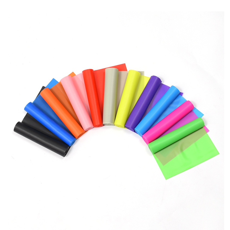 Hot selling yoga rubber fitness Kleurrijke Latex Sterke Stretching bulk weerstand bands