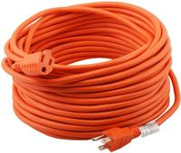 16/3 Extension Cord Outdoor Extension Cord 50 ft Orange heavy duty extension cord