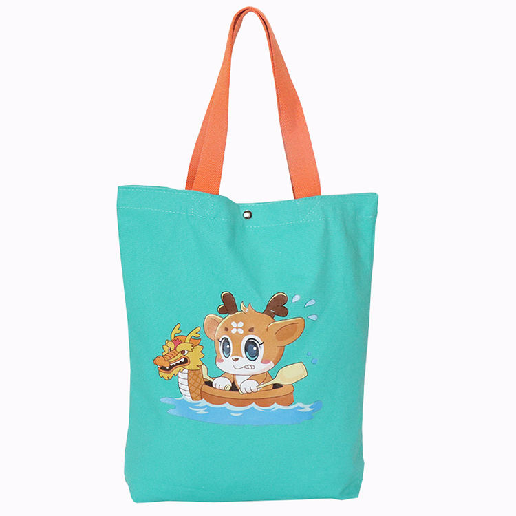 wholesale reusable recyclable portable shopping custom logo cotton canvas packaging tote bag