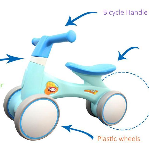 2020  sliding training 3 wheels walking bicycle mini balance baby kids walking bike