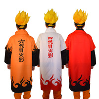 Naruto Halloween costume cloak four generations six generations Naruto cloak cap cosplay costume
