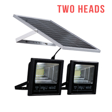 Lampu Double IP65 Outdoor ABS 60 Watt Tenaga Surya LED <span class=keywords><strong>Banjir</strong></span> <span class=keywords><strong>Cahaya</strong></span>
