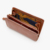 buy luxury handmade best women embossed leather coin change purse money clip and card holder