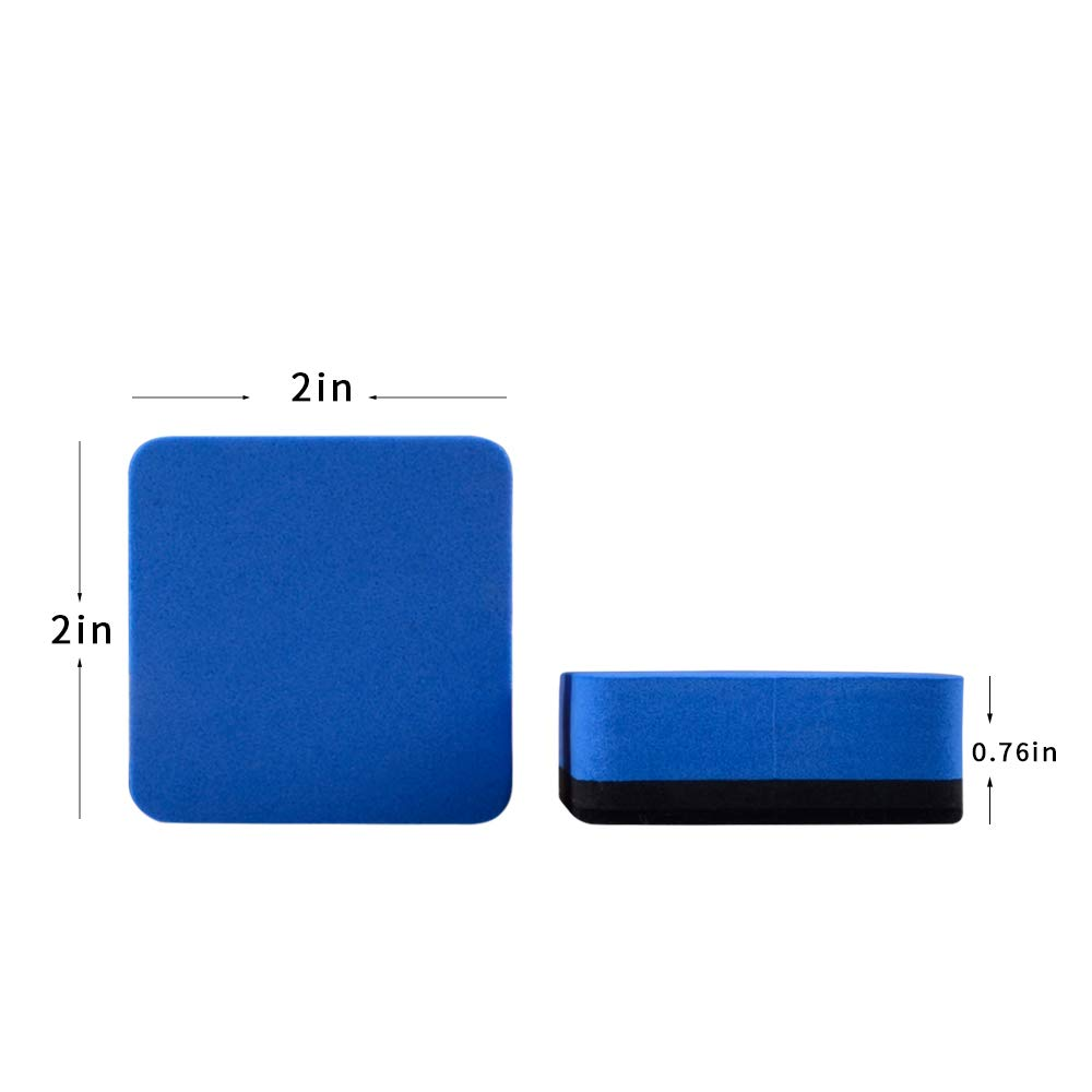 distributor 4 Colors pretty rectangle foam whiteboard eraser for school