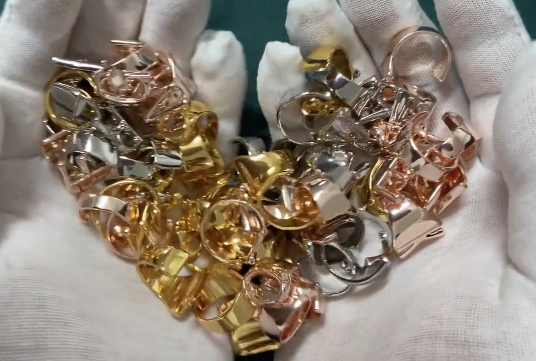 Dvacaman Personalisierte Hohl A-Z Brief Gold/Silber/Rose Gold Farbe Metall Verstellbare Öffnung Ring Initialen Name Alphabet Schmuck