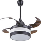 Fans High Frequency Home Appliance Modern LED Ceiling Fans With Light