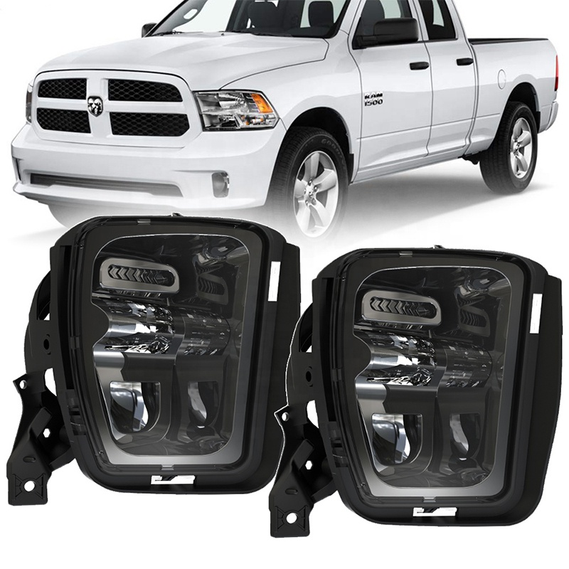 New Arrival Led Fog Lights for Dodge Ram 1500 Accessories for Pick Up Dodge Ram Truck 1500 2013 2014 2015 2016 2017 2018