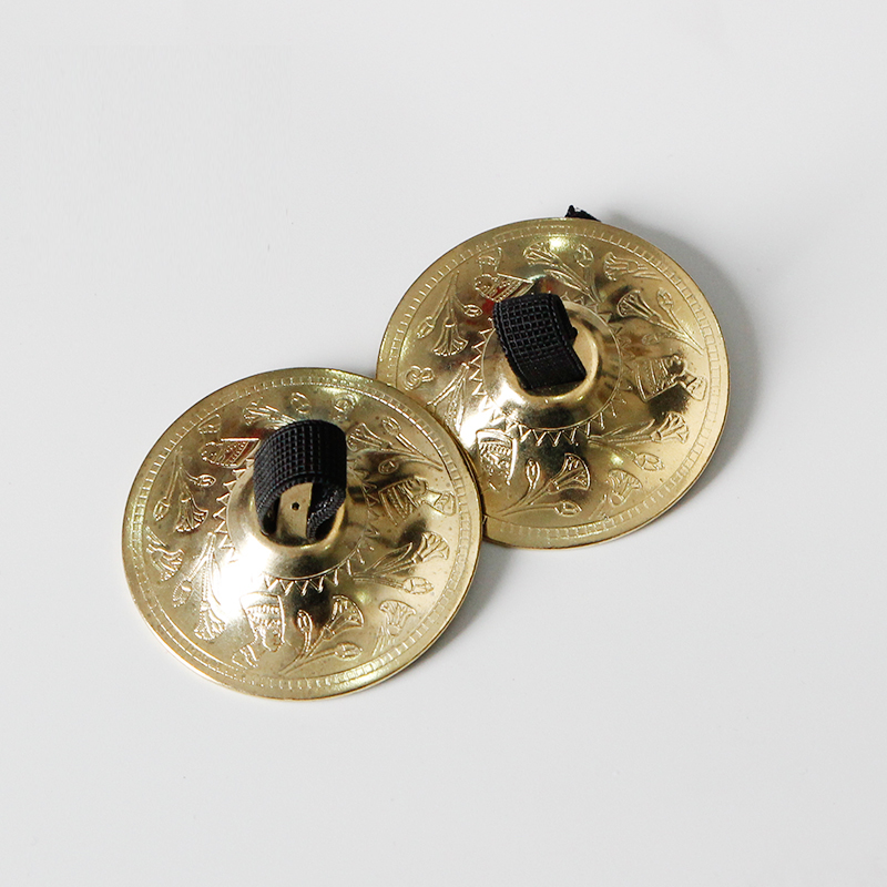 Belly Dance Finger Cymbal Brass Zills Musical Instrument Dancing/Accessory One Pair