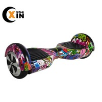 2020 new cool lithium battery graffiti hoverboard 300 W*2 self balancing electronic scooter