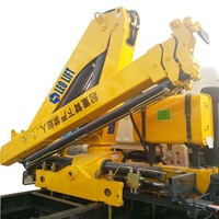 4Ton Best Price Hydraulic Mini Lift Boom Crane Truck Crane