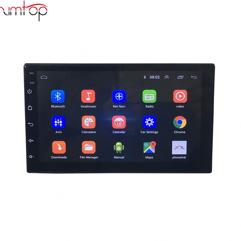 6.95 Inch Android 8.1 Quad Core Multimedia Touch Screen Radio Car Dvd Player For Universal