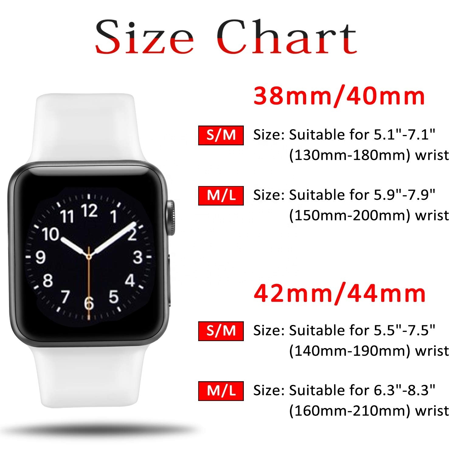 Classic silicone replacement band strap for Apple Watch band series 6 5 4 3 2 1 for iwatch band strap 38 40 42 44 mm