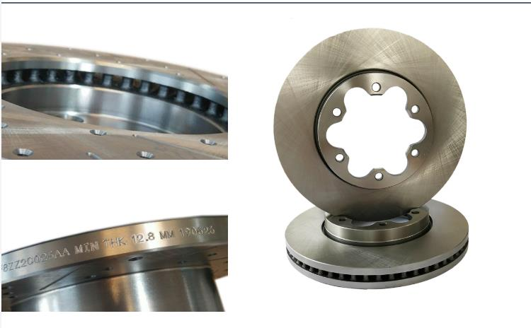 Wholesale auto brake systems 330mm disc brake rotor made in china