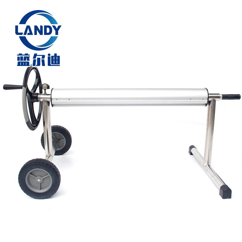 Factory Price Retail Stainless Steel High Quality Ground Swimming <strong>Pool</strong> Solar <strong>Cover</strong> <strong>Reel</strong> Roller