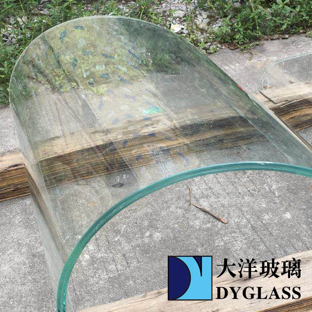 Jumbo size curved tempered glass at low prices