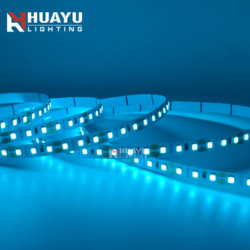 Flexible Single color Multi color 120 LEDs per meter 2835 12V 24V LED Strip light ice blue color