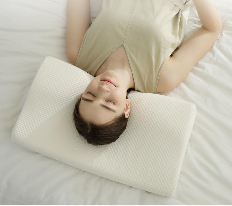 Orthopedische Cervicale Neksteun Pijnbestrijding Contour Vlinder Vorm Anti Snurken Bed Almohadas Ortopedicas Memory Foam Kussen