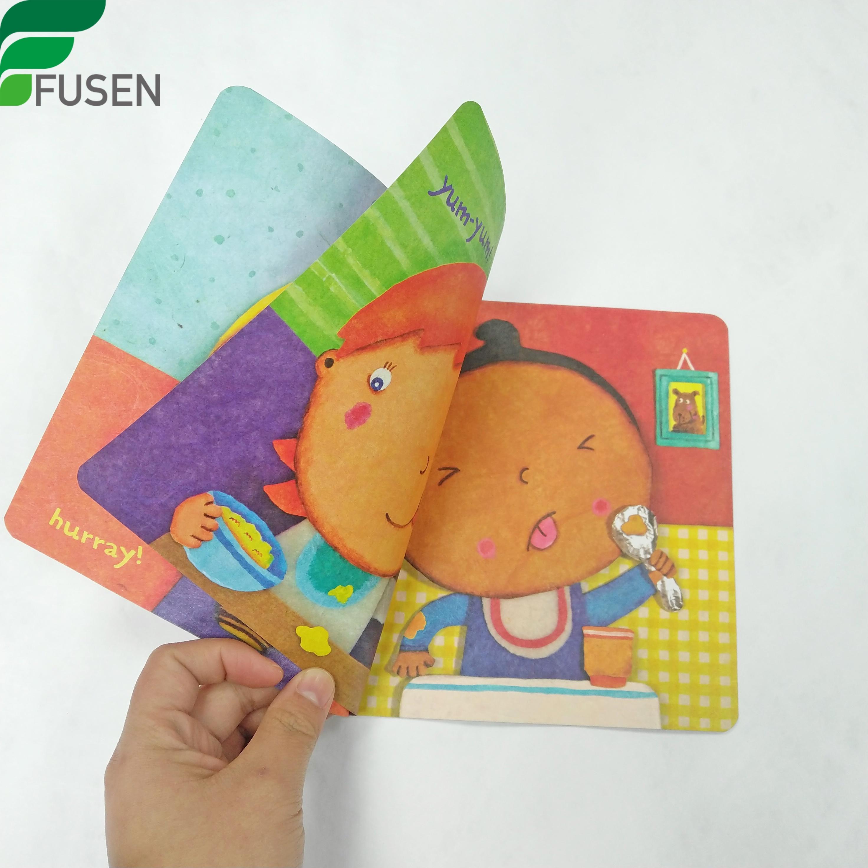 Tyvek baby waterproof tear resistant environmental picture cartoon book