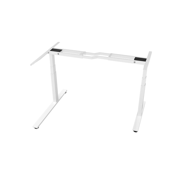 metal adjustable desk with folding legs steel ergonomic electric height adjustable table office furniture big smart table