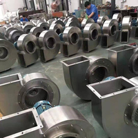 High Temperature Resistant Stainless Steel Industrial Centrifugal Exhaust Fan Blower