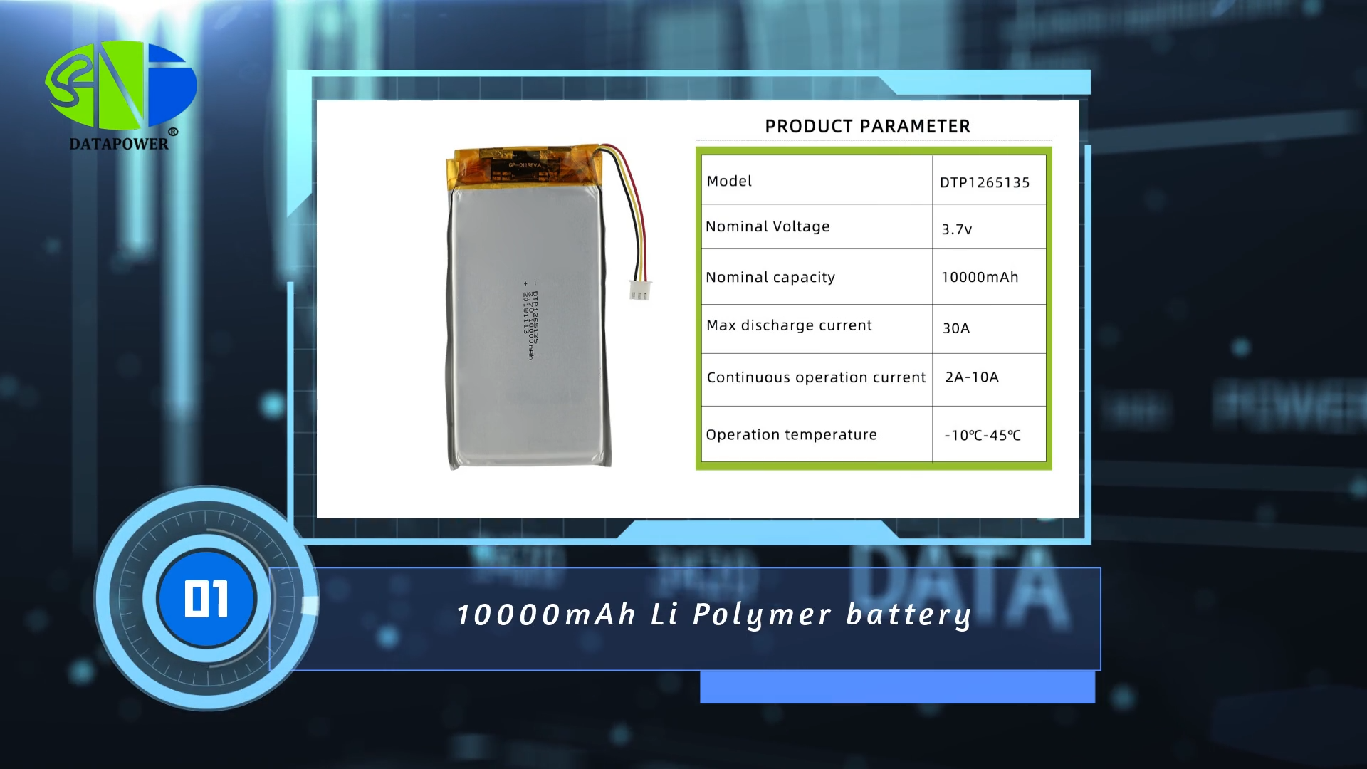 BIS KC CB CE 10C Descarga 37Wh DTP bateria de polímero de li 1265135 3.7v 10000mah lipo bateria De Lítio