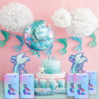 2020 new arrivals mermaid decoration party bags for kids birthdays mermaid birthday 8pcs kids party gift bag