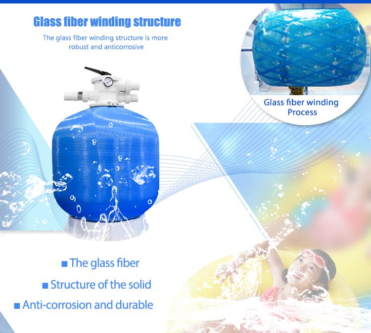Muiti Valve Top Mount Best Combination Underground Fibreglass Swimming Pool Sand Filter Accessories