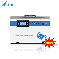 Anern 12v Hot selling 500w mini solar light system for home