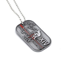 2020 neue Produkt Factory custom Military Tag Archaize Stil armee metall hund tag/dogtag