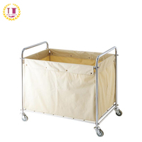 Hotel Dirty Laundry & Linen Trolley