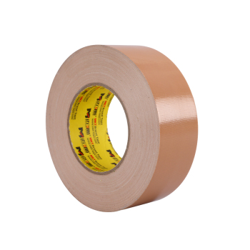 Free Samples Heavy Duty Industrial Hot Melt Dark Brown Duct Cloth Tape