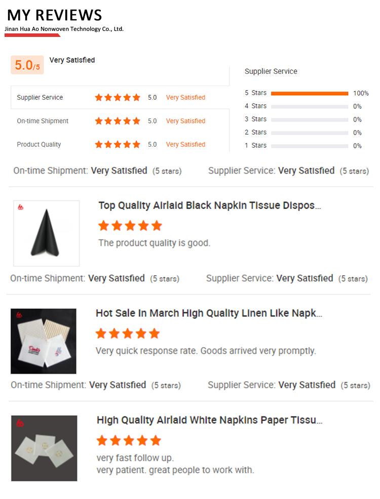 Hot Sale Serbet Pencetakan Restoran Jaringan Serbet Dapur Handuk Kertas