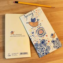 Портативный Мини Симпатичный цветочный Планер для птиц, записная книжка, чистая крафт-бумага, дневник, журнал, дорожная книга-блокнот, офисн...(Китай)