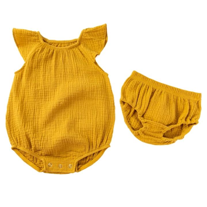 도매 신생아 아기 소녀 romper ruffle jumpsuit 옷