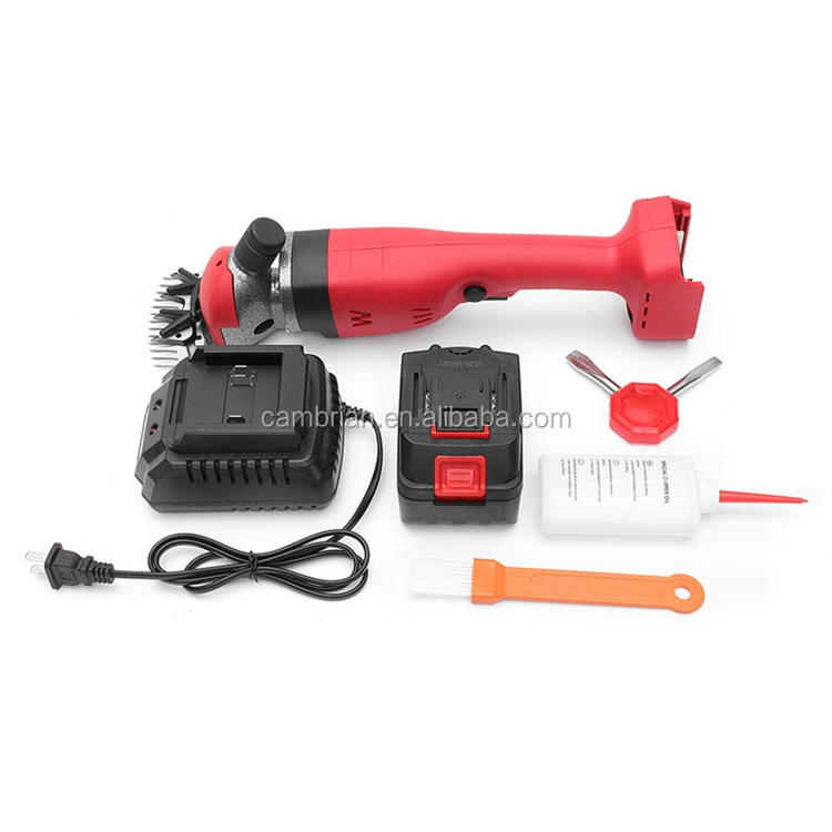 Portable animal cordless goat sheep clipper for sale
