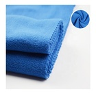 100% polyester 150D micro polar fleece two side brushed one side anti pilling fabric