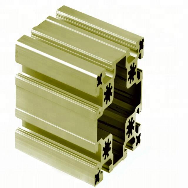 Grade aluminium profile for industrial mechanical structural framework