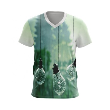 China manufacturer 100%polyester t shirt custom t shirt printing full sublimation printing