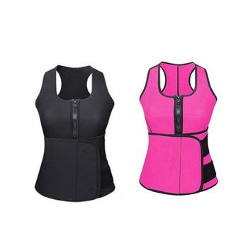China Manufacture Neoprene Body Slimming Vest, Neoprene Slimming And Toning Waist Trainer Vest