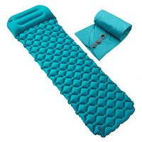 Baiyuheng Adult Sleeping Pad 1 Person Camping Mat Inflatable Self-Inflating Camping Air Mattress