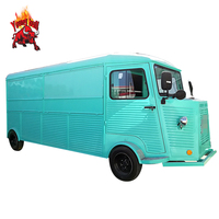 Hot Sale Mini Mart Mobile Four Wheel Coffee Shop Snack Truck Food Cart