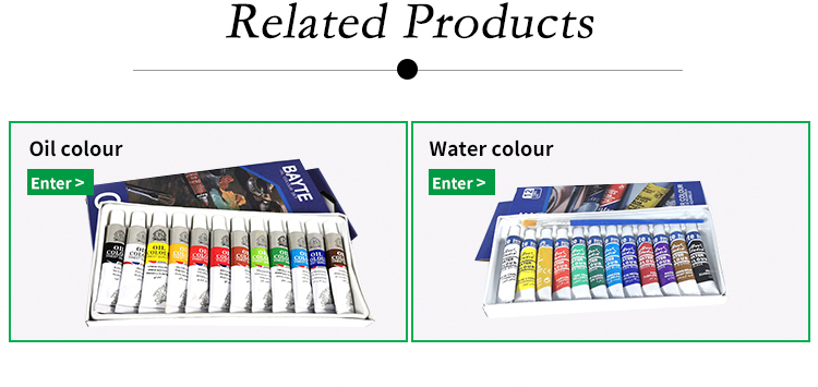 Professional Superior Artists Travel 12 Watercolor Consumables Pigments Paint Set, Art Supplies Brush Set Painting Watercolor