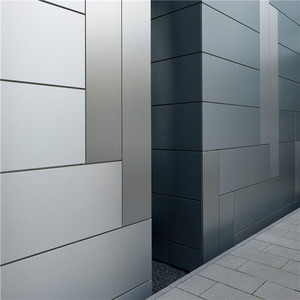 Smothly Silver Metallic Coating Aludream 1220x2440mm aluminum composite panels acm/acp sheet for elevator wall cladding