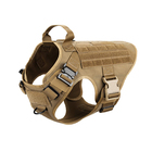 High quality Customized Tactical Dog Harness K9 Working Dog Vest