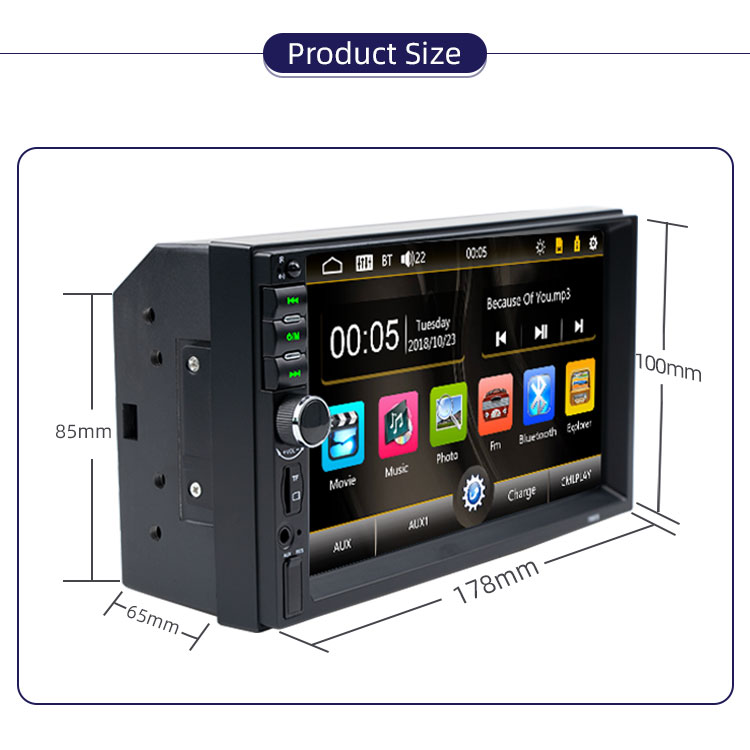 7880S Car Stereo Car DVD Player Multimedia Player With  Car radio