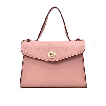Wholesale new model Fashion double color ladies PU leather Handbags cellphone cross body purse bag