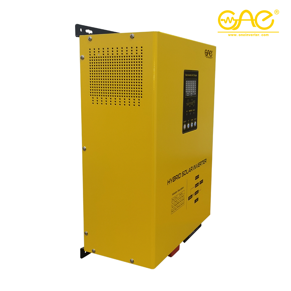 Hybrid Solar Power Inverter 2kw 3kw 4kw 5kw 10kw On/off Grid Tie Combined With Mppt Solar Charge Controller